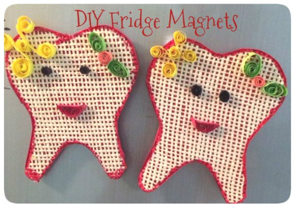 DIY Fridge Magnets