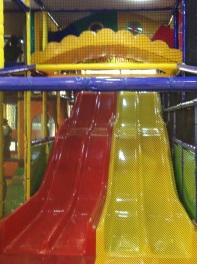 4 Tier Slide at Junior Zone Funky Monkeys