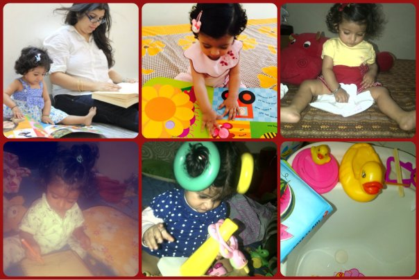 Activities that keep my one year old busy