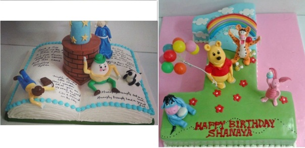 Cakes from Deliciae Patisserie