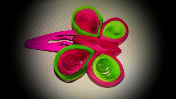DIY Quilling Hair Accessory