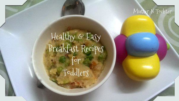 Breakfast Recipes for One Year Olds