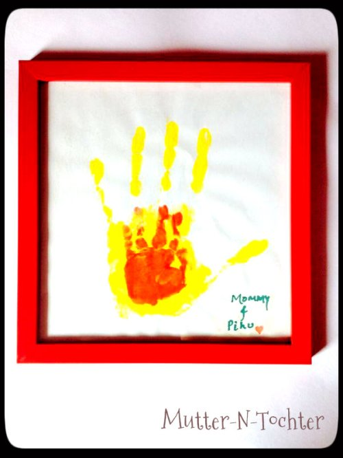 Hand in hand print