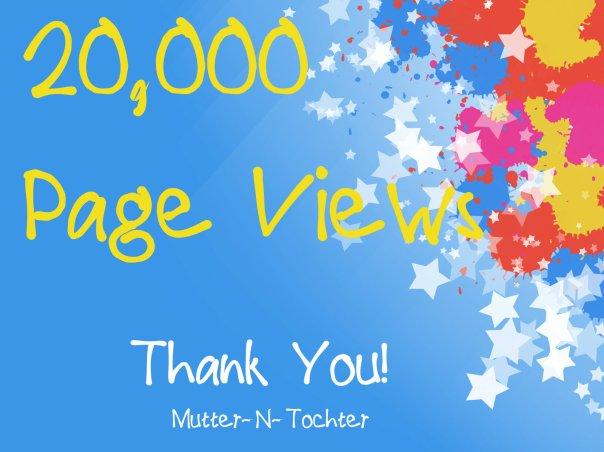 20,000 Pageviews