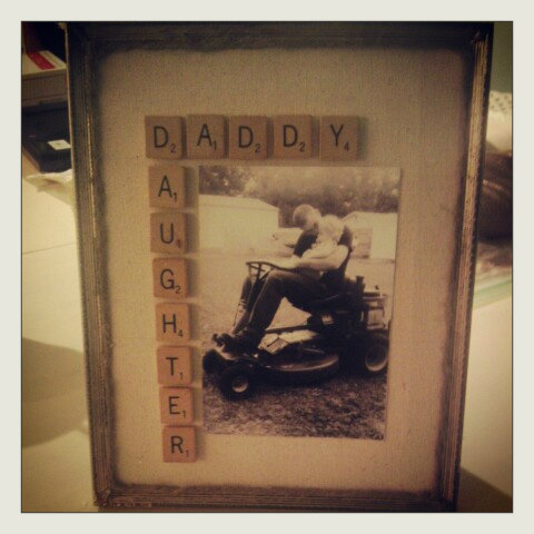 Father'sDayGift wordy frame