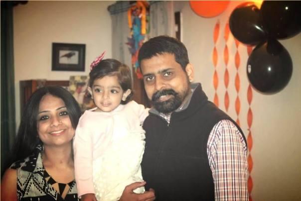 Creative mom of the month: Samira Kunal Soni with her daughter Maithili & husband Kunal