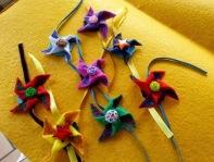 Handmade felt rakhi 1