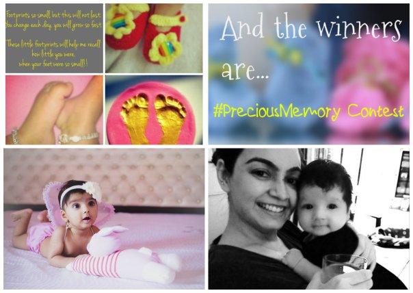 Winners of #Preciousmemory Contest