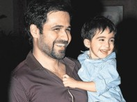 Emran Hashmi with son
