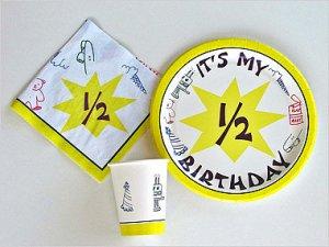 Half-Birthday-Tableware