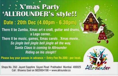 X Mas Party Allrounder style