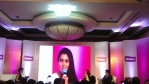 Kajol talks to mummies at Huggies India event