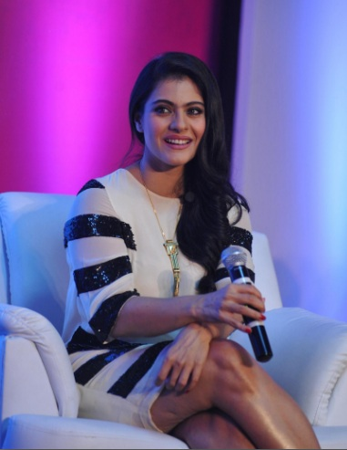Kajol talks parenting at Huggies India event