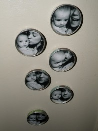 Photo Display OPtions: photo magnets