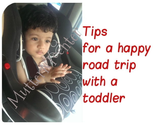 Tips for a happy road trip with a toddler