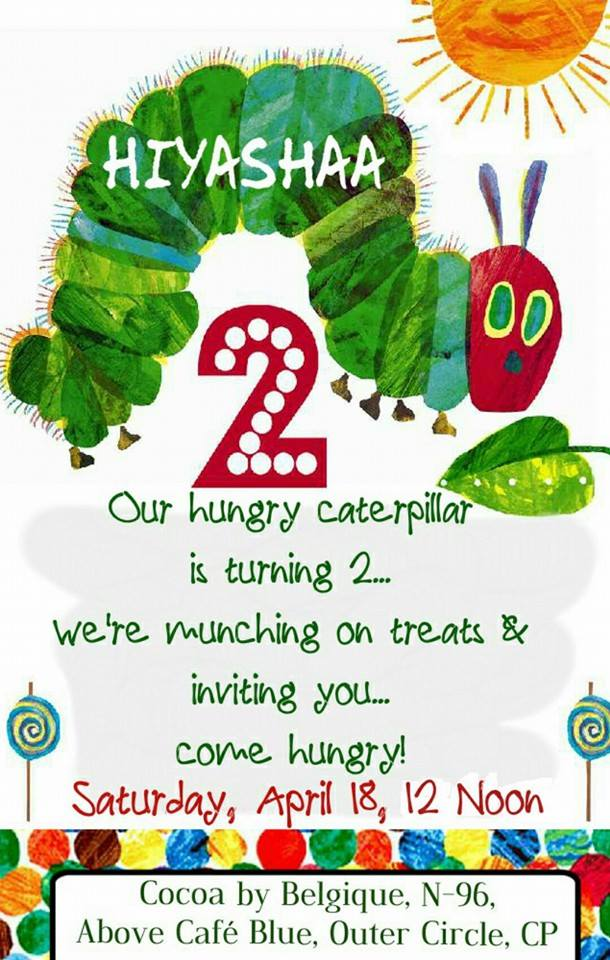 Story of H\'s The Very Hungry Caterpillar Themed Birthday Party ...