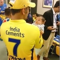 10 Photos of MS Dhoni with his baby Ziva that you can't miss!