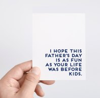 Funny Father's Day Card: Best wish... isn't it?