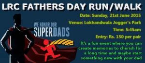 Father's Day event in Mumbai LRC