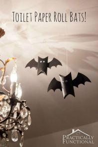 halloween craft bats