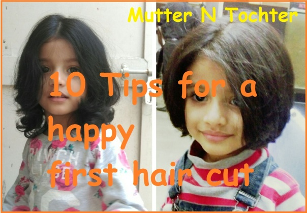 Tips for happy First Hair Cut