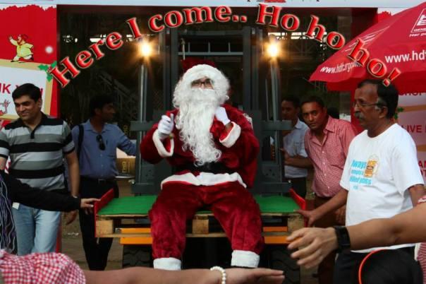 The 10th Mumbai Christmas Fest Racing Carniva