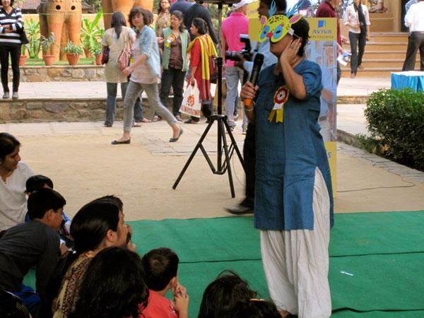 Story telling with Deepa Balsavar
