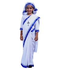 How to dress up a child as Mother Teresa