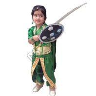 How to dress up a child as Rani Lakshmi Bai