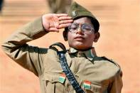 How to dress up a child as Subhash Chandra Bose