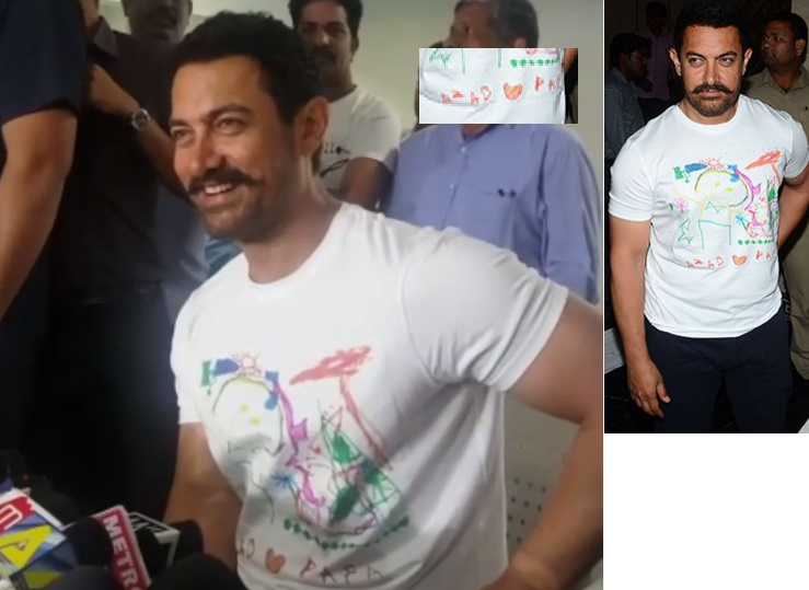 Aazad Gave The Best Birthday Gift To Dad Aamir Khan