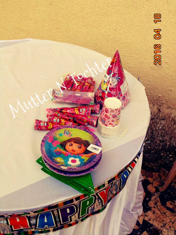 A Dora the Explorer Birthday Party MutternTochter