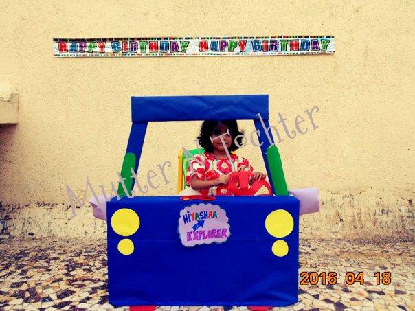 Dora the explorer Photobooth