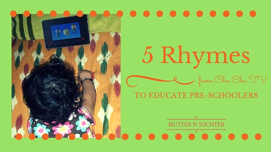 5 rHYMES FOR PRE-SCHOOLERS