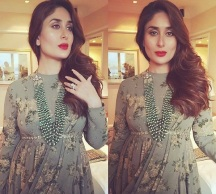 Maternity Fashion: Pregnant Kareena Kapoor dressed in a Sabyasachi dress