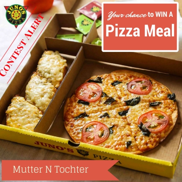 Win Pizza Meal Contest from Juno's Pizzas