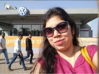 At the Volsvagen India plant at Chakan, Pune