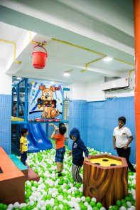 Softplay area at Koco Kids