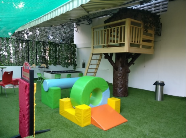 Koco Kids Outdoor area
