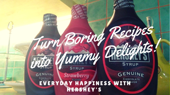 Turn boring recipes into yummy delights with Hersheys