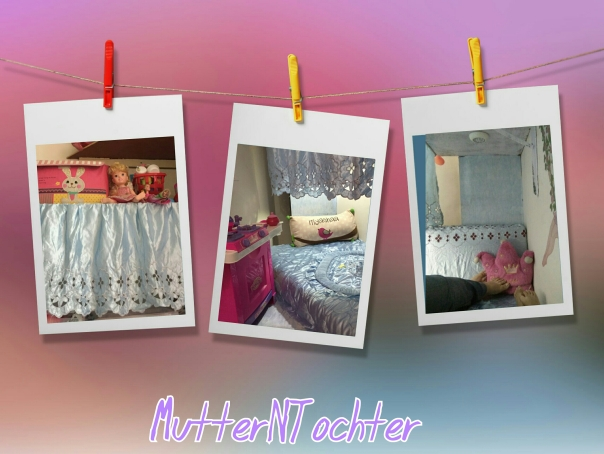Kids Room Decor: Princess-y Bed