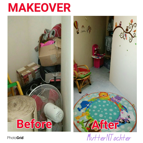 kids Room Decor: Before and After