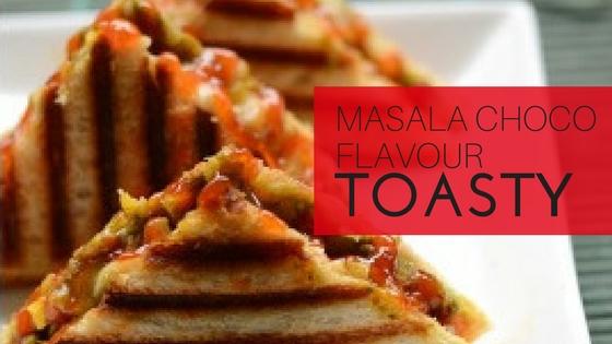 Masala Choco Toasty