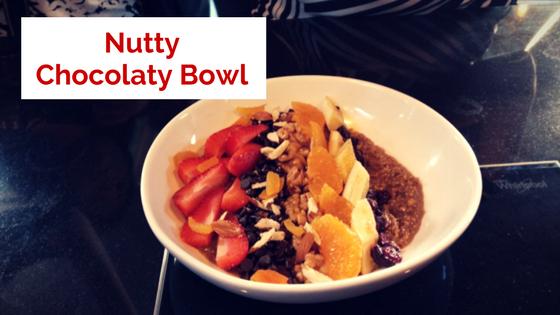 Nutty Chocolaty Bowl with Hershey's