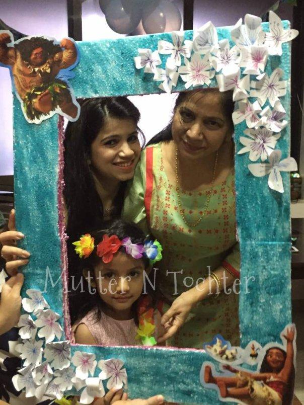 Moana Themed Photo Booth