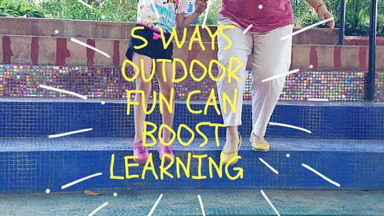 5 ways outdoor fun can help learning
